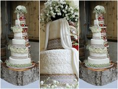 Delightfully Dainty Cakes by Aimee   #BrideHour