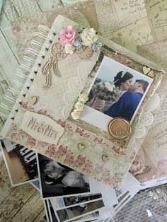 Wedding album #scrapbooking #wedding