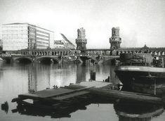 Oberbaumbrücke 1946, (Ruine).