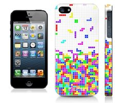 Tetris iPhone case. Awesome!