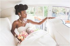 Ford Edison Estate Wedding: Terry + Roselyne Vintage bride featured on Munaluchi Bride. Wedding Rolls Royce