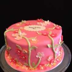 Little Girl's Birthday Cake from Magnolia Cakes & Confections
