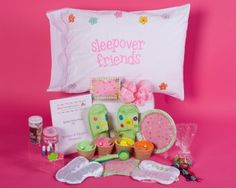 Lists of Ideas for Slumber Parties from Creative Party Themes