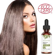 Aria Starr Beauty Organic Argan Oil is natural and has no chemical in it. So, it can give good result just like ancient Argan oils. It is a perfect moisturizer for sensitive hair Castor Oil For Skin, Castor Oil For Hair Growth, Argan Oil Hair, Hair Oil, Best Hair Growth Oil, Acne Oil, Organic Argan Oil, Natural Moisturizer, Hair Loss Remedies