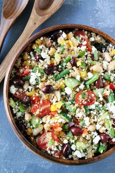 Mediterranean Three Bean Quinoa SaladReally nice recipes. Every Mein Blog: Alles rund um Genuss & Geschmack Kochen Backen Braten Vorspeisen Mains & Desserts!