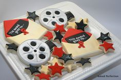 Movie Theme Hand Decorated Sugar Cookies