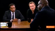 The Charlie Rose Interview with Michael, Steve, and Chiwetel.