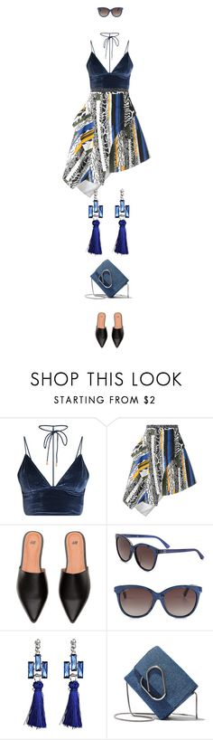 """eva1038"" by evava-c ❤ liked on Polyvore featuring Versus, Gucci and 3.1 Phillip Lim"