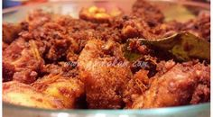 This spicy and yummy chicken fry is quite popular in payyoli,a place situated in the North Malabar coast of Kerala Indian Chicken Recipes, Spicy Chicken Recipes, Marinated Chicken, Indian Food Recipes, Chilli Paste, Kerala Food, Curry Leaves, Gluten Free Chicken, Fries