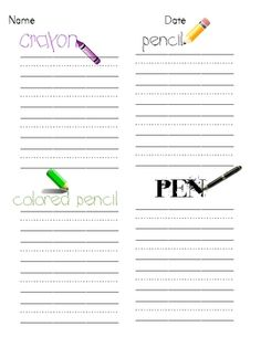 This is a handy form that I have used in both Kindergarten and First Grade. It is a fun way for students to practice writing and learning their sig...
