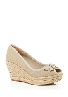5f83f21dbc7 Pop Katrina Crisscross Lace Platform Wedge Sandals. See more. from JCPenney  · TORY BURCH Jackie Wedge
