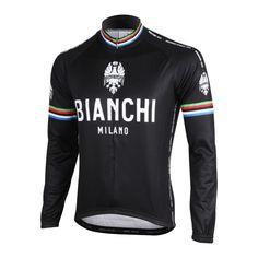 Bianchi Milano World Champ Long Sleeve Cycling Jersey  30f7f636d