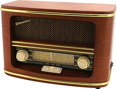 How to build a Raspberry Pi Radio Transmitter Radio Design, Speaker Design, Retro Radios, Tvs, Robotic Automation, Television Set, Timber Wood, Boombox, Cool Tones