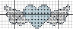 small heart with wings cross stitch tattoo St Valentine Cross Stitch Boards, Cross Stitch Heart, Simple Cross Stitch, Wedding Cross Stitch Patterns, Cross Stitch Designs, Cross Stitching, Cross Stitch Embroidery, Tapestry Crochet, Knitting Charts