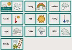 """""""Gewünschte"""" Dominos für Englisch Antje hat sich zu den Themen """"weather"""" und """"farm animals"""" Dominos gewünscht. Ich habe mehrere Vari..."""