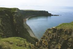 A bay in the northernmost living place of Iceland, Grimsey / Notes of a Wanderer