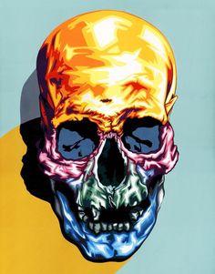 Skulls: #Skull, by Cartie Sewill.