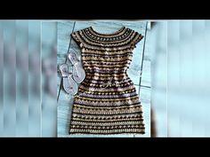 Knitting Videos, Crochet Videos, Crochet Coat, Crochet Clothes, Vanessa Montoro, Crochet Stitches, Crochet Patterns, Parte Superior Del Bikini, Crochet Fashion