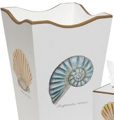 Nautical Decor Page 3 - Nautical Luxuries Coastal Bathroom Decor, Nautical Bathrooms, Coastal Decor, Chrome Wall Clock, Nautical Theme Decor, Glass Centerpieces, Bath Design, Beach House Decor, Bath Accessories