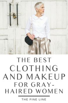 As you embrace gray gorgeousness, it might be time to rethink your color palette to fit with your new look. Here's how to discover the best clothing and makeup for your gray-haired self.