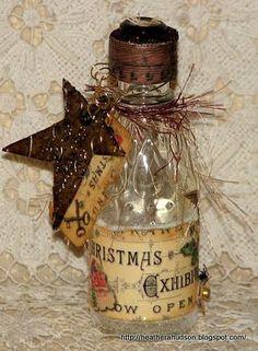 Cute embellished bottle