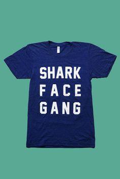Vintage 70's Shark Face Gang T-Shirt
