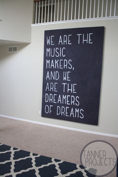 Willy Wonka quote. Would love this in Grayson's future bedroom! :D