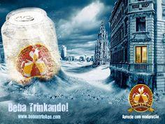 Trabalho da Faculdade Processamento de Imagens - Photoshop - Banner - Campanha Cerveja BoonTrienk - 3° Semestre