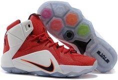 Nike Lebron 12 Kids White Red Black Orange Lebron James 12 5ced69e619f