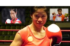 #MCMaryKom, the five time #Boxing World Champion, Four time Asian Champion, Olympic Bronze Medallist, #AsianGames Gold Medallist, Role Model for Women in India etc. Have look at http://sportzwiki.com