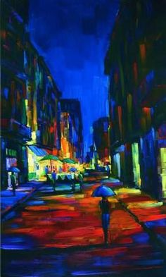 """When in Rome"" by Michael Flohr.  Fine Art Limited Edition, 40"" x 24"""