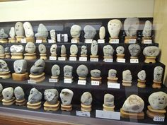 Japan has a museum for rocks that look like faces