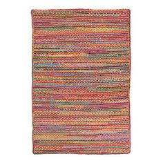 Atrium Cotton Rainbow Rug | Sizes Available | Best of 2017 @ The Home