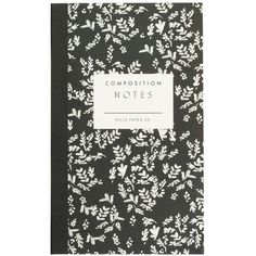 J.Crew Rifle Paper Co. Composition Pocket Notepad (62 DKK) ❤ liked on Polyvore featuring home, home decor, stationery, filler, accessories, books and notebook