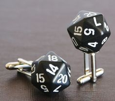 My nerdy inner child from my misspent youth playing Dungeons & Dragons LOVES these!