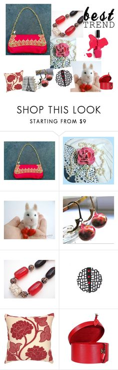 """""""Red May"""" by oxysfinecrafts ❤ liked on Polyvore featuring Dollhouse, Louis Vuitton and vintage"""