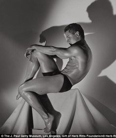 Greg Louganis, Hollywood, 1985 by Herb Ritts