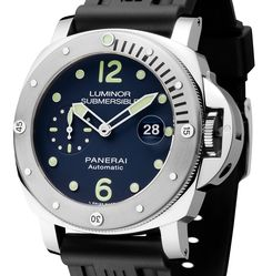 Panerai Luminor Submersible Automatic Acciaio 'E-Commerce Micro-Edition' Watch Luminor Watches, Rolex Watches, Wrist Watches, Sport Watches, Cool Watches, Panerai Replica, Panerai Luminor Submersible, Skeleton Watches, Swiss Army Watches