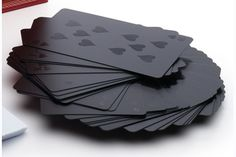 MONOCHROMATIC DECK OF CARDS my-style