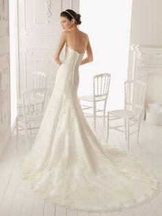 Wedding dress- Aire Barcelona