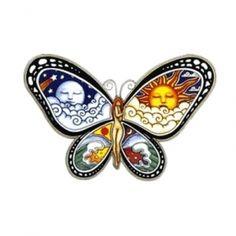 Butterfly Sun Moon Tattoo Minus The Woman