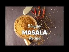 How to Make Biryani Masala Powder at Home Step-by-step Video