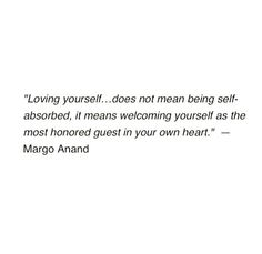 Accept and embrace yourself