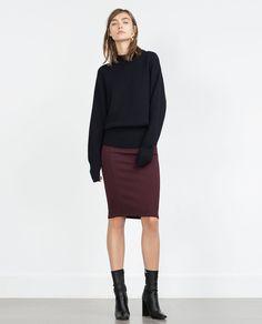 TUBE SKIRT-Midi-Skirts-WOMAN | ZARA United States