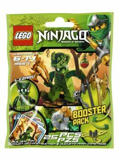 LEGO Ninjago Lizaru 9557 by LEGO. $9.19. Fit the snake blades for extra damage. Collect all of the LEGO Ninjago booster packs for endless Spinjitzu fun!. Prepare to battle the ninjas with 4 battle cards and Lizaru, armed with fang blades, shields and a golden weapon. Power up your spinners with Ninjago booster packs. Defend yourself with the shields. From the Manufacturer Prepare to battle the Spinjitzu masters! Lizaru is armed with some cool we...