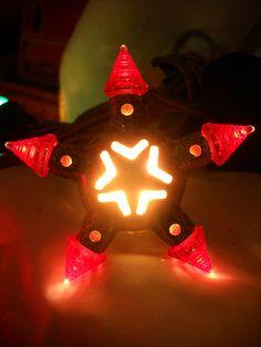 christmas light c1935 kristal star lamp japan by holidaylegacies star lamp vintage christmas lights