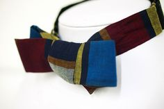 Walter Gropius bow tie. Part of the archive at the GSD. These are amazing.  Ties to the past | Harvard Gazette
