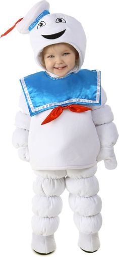 Baby Stay Puft Marshmallow Man Costume - Ghostbusters - Party City