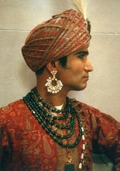 As Maharaja in Vogue Magazine's spread on The Royal Costumes of India exhibition at the Metropolitan Museum of Art in NYC