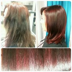 Corrective color by Heather Norris at The Springs Salon and Spa!